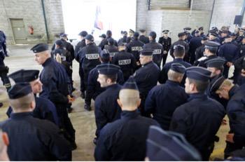 concours gardien de la paix policier